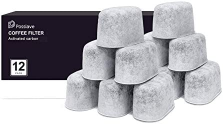 Possiave 12 Pack Charcoal Water Filters Compatible with Breville BWF100 Machines Breville Espresso product image
