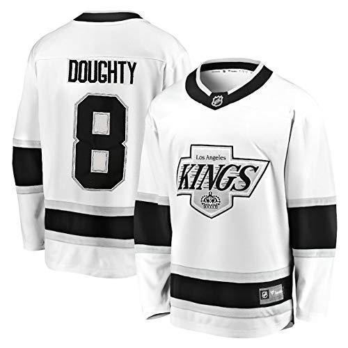 DEAN Fan Hockey Jersey, Kings # 11 Kopitar # 99 Gretzky # 32 Gestickte Trikot, 100% Polyesterfaser, weiche Textur DOUGHTY8-XXXL