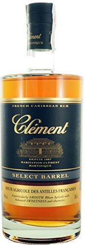 CLEMENT RON SELECT BARREL 40% 100 CL