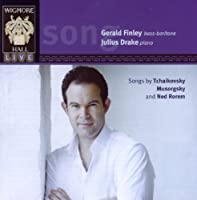 Songs by Tchaikovsky, Mussorgsky & Ned Rorem by Gerald Finley (2008-11-28)