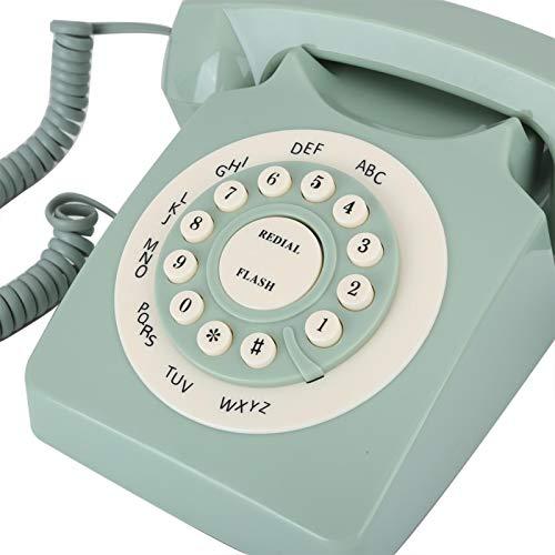 Surebuy Teléfono Antiguo Teléfono Antiguo Resistente y Duradero, para la decoración del hogar, para el hogar