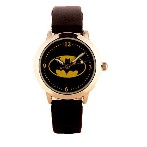 Kinderen kijken XYDBB kinderen horloges Kinderen quartz horloges Gelei Kinderen klok Jongens Studenten kijken zoals afgebeeld4 Zwart (leer)