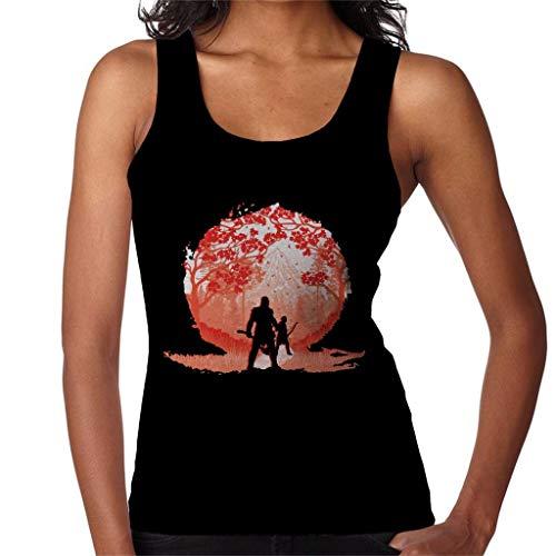 Gevaarlijke wereld God van de oorlog Kratos en Atreus Women's Vest