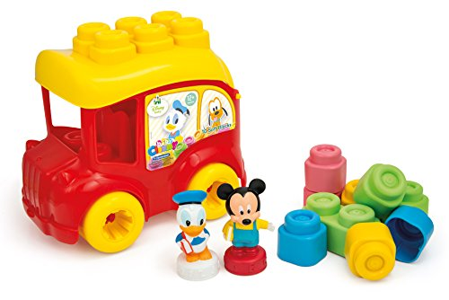 Clementoni Mouse Disney Le Bus de Mickey, Multicolor, One Size (14792.