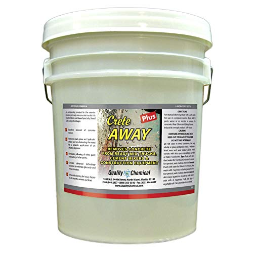 Crete Away Concrete Remover from trucks, mixers and construction equipment.-5 gallon pail