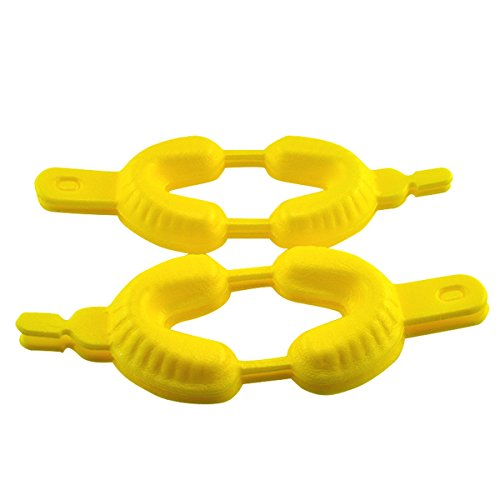 Disposable Dental Fluoride Trays Dual Arch Tray for Gel or Foam 100 Pcs (Medium)