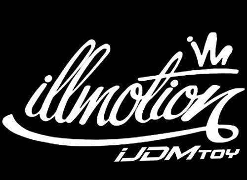 iJDMTOY 7-Inch Graffiti Style illmotion Motion JDM Euro Nation Drift Racing Car Window Bumper Die-Cut Decal Vinyl Sticker