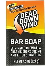 Dead Down Wind Bar Soap-Odor Elimination Barra de jabón, Unisex, 0, 1 Pack