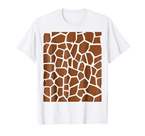 Giraffe Print - Easy Halloween Costume Idea - Tee Shirt