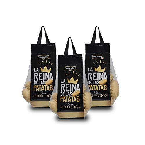 Patata Premium LA REINA Gran Selección 9Kg. | 3 mallas de 3Kg.
