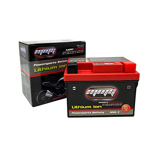 MMG YTZ7S Lithium Ion Sealed Powersports Battery 12V Powerful 150CCA, No spills, Factory Activated, Ready to Use for Motorcycles Scooters ATVs (MMG3)