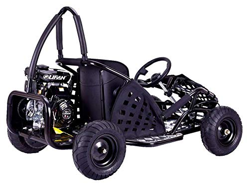 MotoTec MT-GK-05 Black Off Road Go Kart - 79Cc