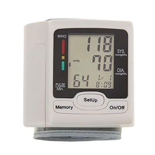 Starmood Deutschland Chip automatisches Handgelenk Digital Blutdruckmessgerät Tonometer für die Messung der Herzfrequenz