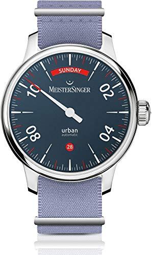 MeisterSinger Urban Day Date URDD908 Einzeiger Automatikuhr