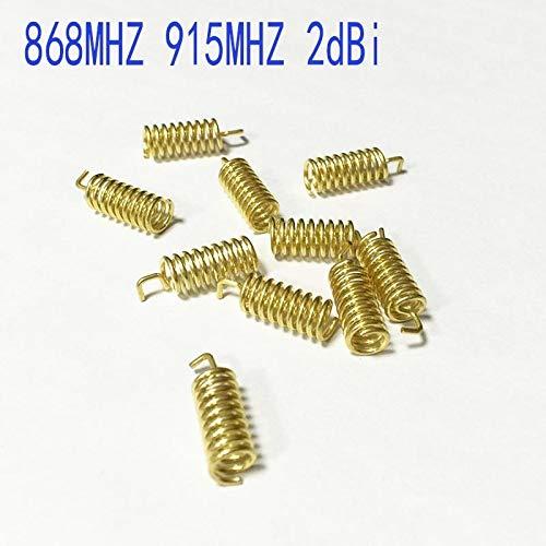 NO LOGO LSB-Helix-Antenne, 5pcs 868MHZ 915MHz interne Antenne Copper Feder Aerial 16.5mm