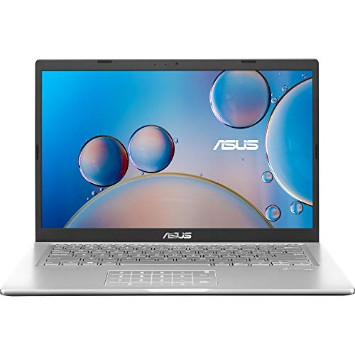 "ASUS F415JA-EK398 - Portátil 14"" Full HD (Core i7-1065G7, 8GB RAM, 512GB SSD, Iris Plus Graphics, Sin Sistema Operativo) Plata Transparente - Teclado QWERTY español"