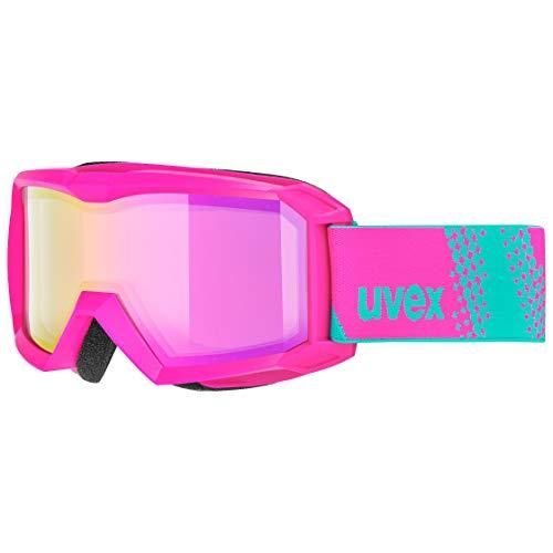 uvex Unisex Jugend, flizz FM Skibrille, pink, one size