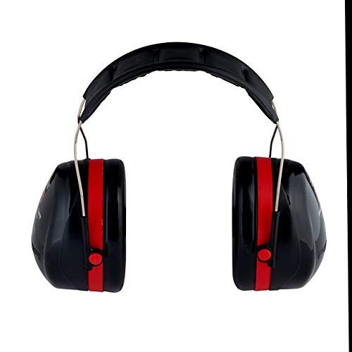 3M Peltor Optime III Kapselgehörschutz mit Kopfbügel, Hi-Viz, SNR 35 dB - 2