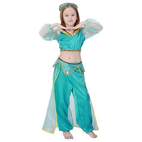 nihiug Aladdin Lámpara Cos Cosplay Halloween Adulto Disfraz ...