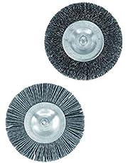 Parkside Voegenborstelset (1 kunststof borstel, 1 metalen borstel) vervangende borstels, voor Parkside universele borstel PUB 500 A1 - LIDL IAN 308713