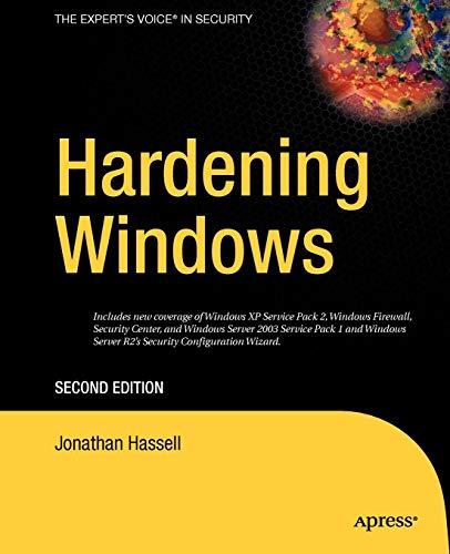 Hardening Windows: Second Edition