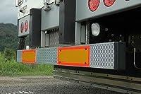 【トラック外装・架装用品】いすゞ07フォワード[H19/7~現行] ミラクルプレート【NEWウロコ】ミラーパーツで車外リアバンパーをドレスアップ