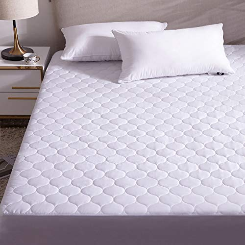 Hani Matrat Premium Quilted Fitted Mattress Pad Protector...