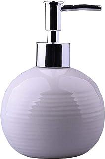 ZPEE Soap Dispenser Ceramic Hand Sanitizer Bottle Shower Gel Shampoo Hand Press Soap Dispenser Sub-Bottle Bathroom Lotion ...