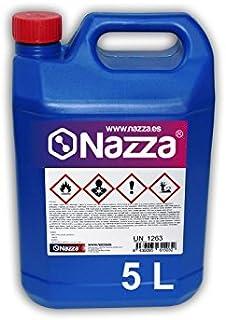 Tolueno Nazza | Disolvente transparente para barnices, pinturas y esmaltes | Envase de Plástico de 5 Litros