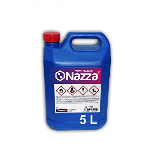 Disolvente de Limpieza Nazza | Enérgica acción | Para los diferentes sistemas de pintado y barnizado | 5 Litros