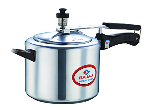 bajaj 5 L Induction Bottom Pressure Cooker  (Aluminium)