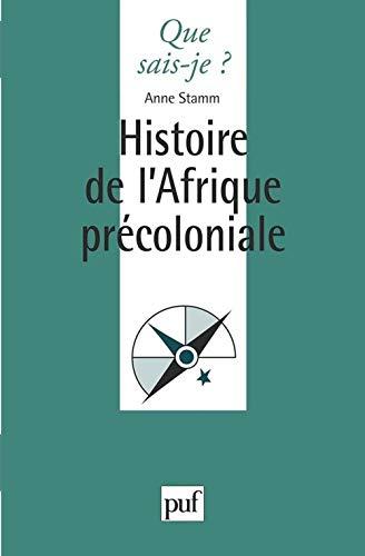 Geschichte des vorkolonialen Afrikas