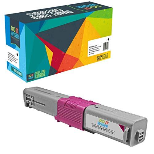 Do it Wiser Kompatible Toner als Ersatz für Oki C531DN MC562 MC562DNW C511DN C510 C510DN C511 C530DN C531 MC561 MC561DN MC562DN MC562W 44469723 (Magenta)