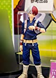 Xungzl My Hero Academia Series Todoroki Shouto Standing Pose Doll Model PVC Anime Cartoon Game Character Model Statue Figure Toy Collectibles Decorations Gifts Favorite by Anime Fan