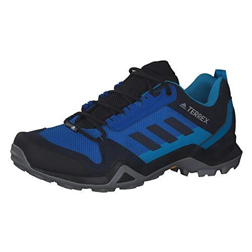adidas Herren Terrex Ax3 Leichtathletik-Schuh, Ruhm Blau/Legend Tinte/Shock Cyan, 42 EU