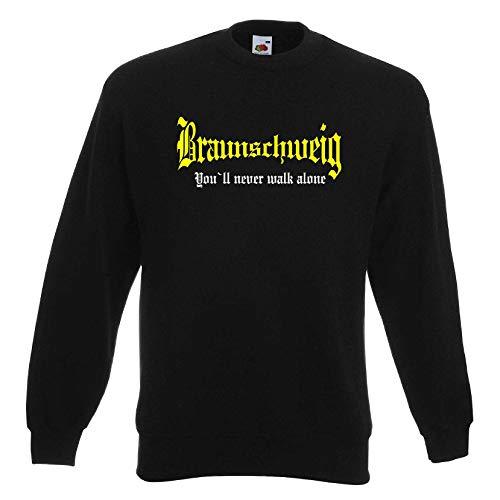 Braunschweig Herren Sweatshirt You`ll Never Walk Alone