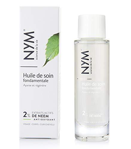 NEEM-NYM-Huile pour cheveux-Huile De Soin Fondamentale 2%-Hydratante-Anti-Oxydante-99% Naturelle-Made In France
