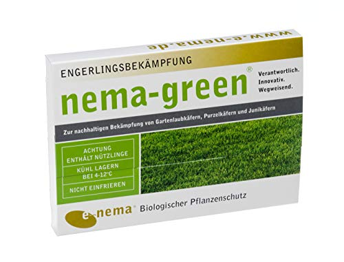 Nema-Green HB Nematoden zur Bekämpfung des Gartenlaubkäfers 50 Mio für 100qm