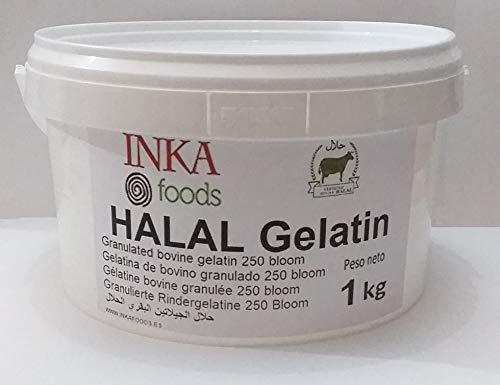 Gelatina granulado HALAL, 250 bloom, sabor neutro - 1kg