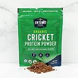 Entomo Farms Organic Cricket Powder │454 (16 oz) Bag │ Pure Canadian Cricket Flour   Complete Protein   Whole Food, 100% Ground Crickets, No Fillers, Gluten-Free, Paleo & Keto Diet