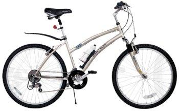 LandRider Women's 15' Bicycle w/Acc Kit (Rider Height: 5'3' to 5'9')