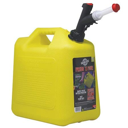5 gal. Yellow Plastic Diesel Fuel Can