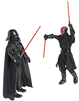 Star Wars Power of the Jedi 12  Action Figure - Sith Lords - Darth Vader & Darth Maul 2-Figure Set