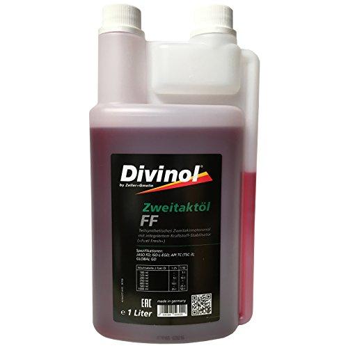 Divinol Zweitaktöl FF 1x1 Liter Dosierflasche 2-Taktöl teilsynthetisch 2T Mischöl