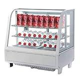 Expositor Refrigerado 4 Caras 100 litros Blanco de 682 x450 x675h mm CC666