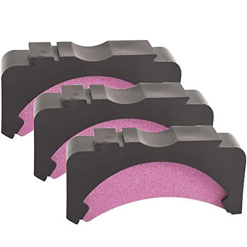 Bestgle - Piedra de afilar de repuesto para afilador de motosierra de barra (3 unidades)