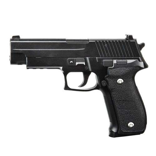 SAIGO Airsoft-Pistolet à Billes S26 à Ressort, matière:métal-Rechargement Manuel-Puissance: 0,5 Joule