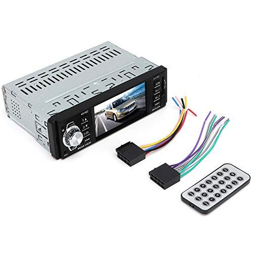 KIMISS 4.1'Reproductor MP5 para automóvil, Reproductor de video musical con pantalla táctil MP5 USB Bluetooth TF Tarjeta FM con control remoto