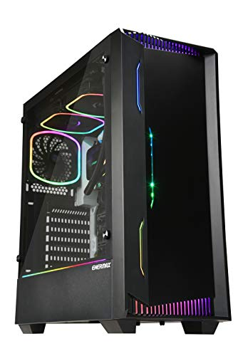 ENERMAX LIBLLUSION LL30 電源付き 500W ブロンズ リブリューション マザーボード同期 ATX ミドルタワー PCケース アドレッサブル RGB LED ファン 500W 電源搭載 500W 電源付属 [ ECA-LL30-M1BB-ARGB-PSU ]