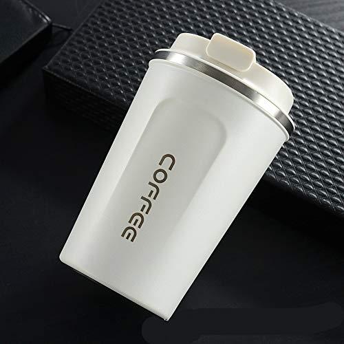 MSNLY stilvolle Edelstahl Vakuum Kaffeetasse Bürobecher kreative Outdoor-Freizeit handliche Autotasse